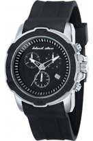 Black Dice Men's Vibe BD-066-01 Black Silicone Quartz Watch with Dial