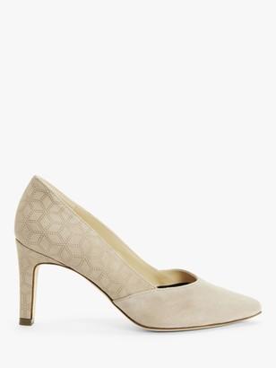 Peter Kaiser Eilna Suede Court Shoes, Light Mauve