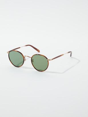 Garrett Leight Wilson Round 46 mm Sunglasses