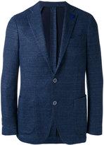 Lardini single-breasted tailored blazer - men - Cotton/Linen/Flax/Polyester - 52