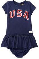 Ralph Lauren Team USA Cotton Tee Dress