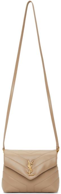 Saint Laurent Beige Toy Loulou Bag