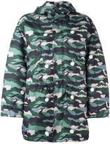 MAISON KITSUNÉ camouflage hooded jacket