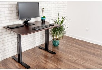 Luxor Height Adjustable Standing Desk Hardware Finish: Black