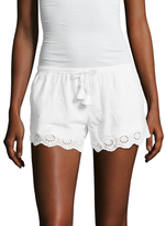 Calypso St. Barth Farfett Cotton Embroidered Short