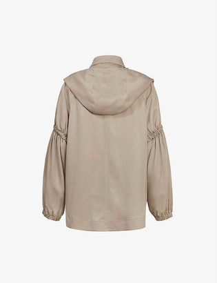 AllSaints Cherry woven jacket