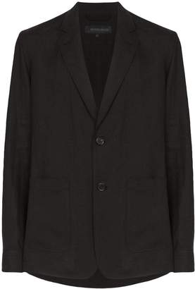 Ann Demeulemeester single-breasted blazer
