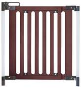 Fred Pressure Fit Wooden Safety Gate, Dark Wood