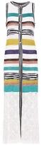 Missoni Sleeveless striped knitted cardigan