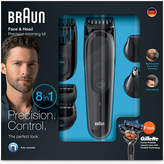 Braun Mens Multifunctional 8-in-1 Black Grooming Kit