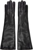 Ann Demeulemeester Black Short Joris Gloves