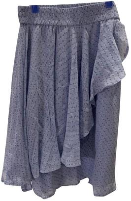 Ganni Fall Winter 2019 Blue Skirt for Women