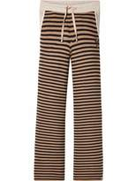 Scotch & Soda Striped Flare Jersey Pants
