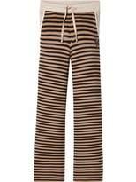 Scotch & Soda Striped Flare Jersey Pants