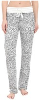Dylan by True Grit Vintage Washed Waffle Chic Cheetah PJ Pants