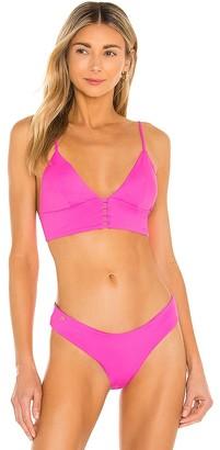 Maaji Heritage Fuchsia Pilot Bikini Top