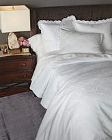 AERIN Two Queen 500TC Pillowcases with Scallop Trim