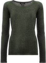 Avant Toi round neck slim-fit jumper - women - Silk/Cashmere - XS
