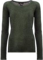 Avant Toi round neck slim-fit jumper