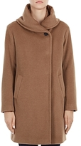Gerard Darel Gaia Shawl Collar Wool Coat
