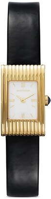 Boucheron 18kt yellow gold Reflet small watch