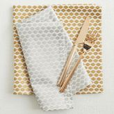 west elm Ikat Mini Lattice Napkin Set