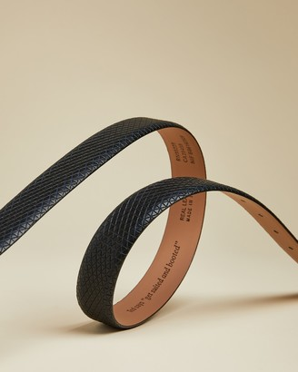 Ted Baker MANILA Textured geo leather belt