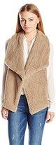 BB Dakota Women's Petite Albion Wubby Vest, Camel