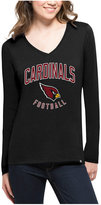 '47 Women's Arizona Cardinals Splitter Arch Long-Sleeve T-Shirt