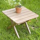 Polywoodâ® Folding Plastic Side Table POLYWOODA Color: Sand