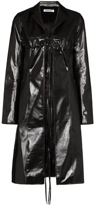 Supriya Lele Tie Front Trench Coat
