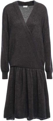Brunello Cucinelli Wrap-effect Knitted Dress