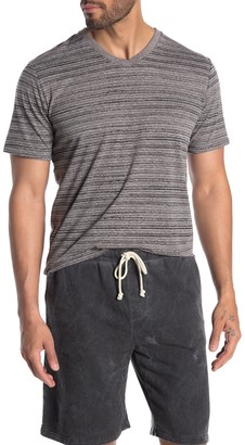 Threads 4 Thought Dirt Road Striped V-Neck T-Shirt