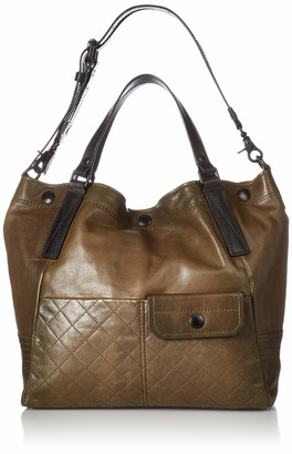 Frye Samantha Quilted Leather Shoulder Handbag