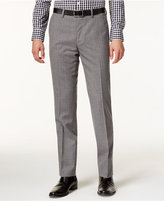 Bar III Men's Slim-Fit Gray Glen Plaid Pants, Only at Macy's