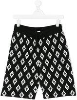 Marcelo Burlon County Of Milan Kids logo print shorts