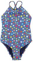 MC2 Saint Barth Star Rainbow Lycra One Piece Swimsuit