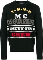 DSQUARED2 Ninety-Five Crew jumper
