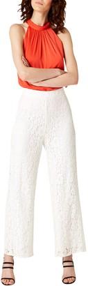 Damsel in a Dress Julietta Lace Trousers, Cream