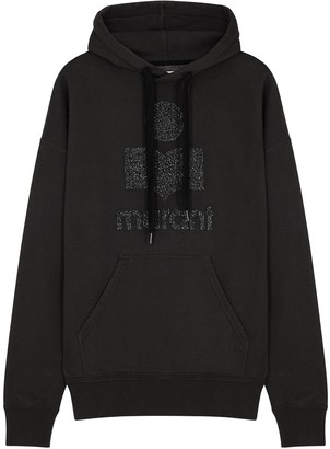 Etoile Isabel Marant Mansel Logo Hooded Jersey Sweatshirt
