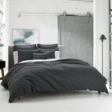 Kenneth Cole Reaction Home Waffle Twin Duvet Cover in Charcoal
