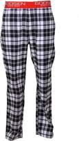 Godsen Men's 2 Pack Cotton Flannel Lounge Pants (XXL, )
