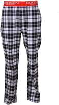 Godsen Men's 2 Pack Cotton Flannel Lounge Pants (XXXXL, )