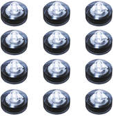 Asstd National Brand Submersible Battery Operated LED Lights (Set of 12)