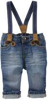 Osh Kosh Suspender Jeans - Derby Wash