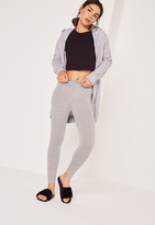 Missguided Full Length Leggings Grey