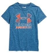Under Armour Toddler Boy's Logo Graphic Heatgear T-Shirt