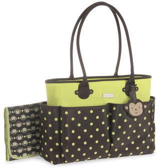 Carter's Polka Dot Tote Diaper Bag