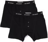 Ben Sherman Black Boxer Briefs - Set of Two