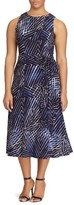 Lauren Ralph Lauren Plus Size Women's Print Jersey Fit & Flare Dress